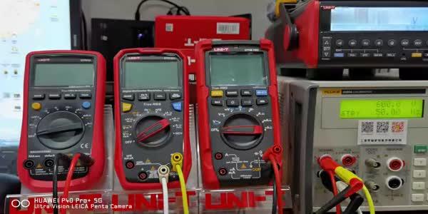 優利德UT15B PRO對比UT61E和UT61E+電壓檢測