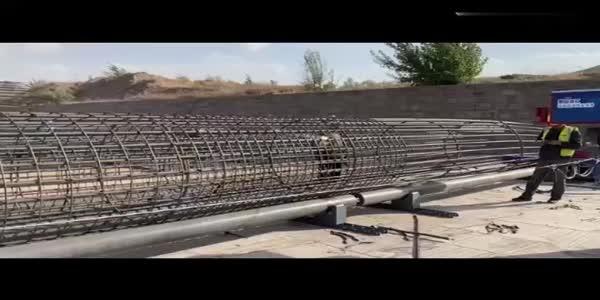 钢筋笼缠绕机 数控钢筋笼成型机钢筋滚焊机设备